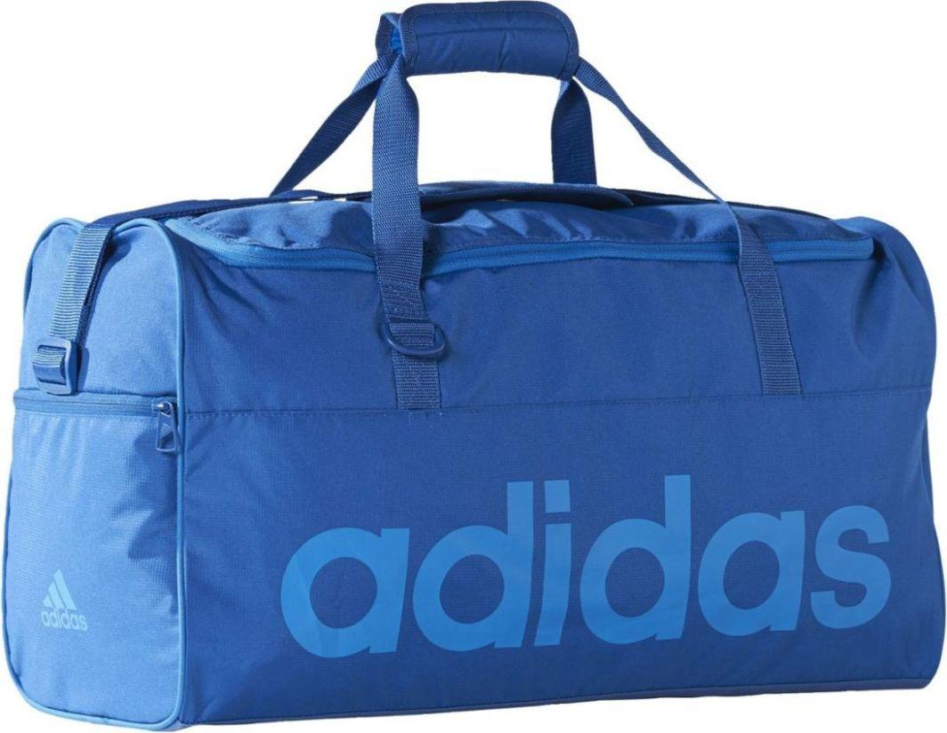 eaa76fbbb806e Victoria Sport Torba sportowa Adidas Linear Performance Team Bag M 37.6L  niebieska (AJ9926) w Sklep-presto.pl