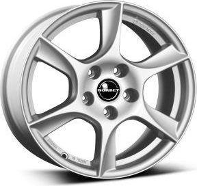 Borbet TL Silver 5x14 4x100 ET35 1