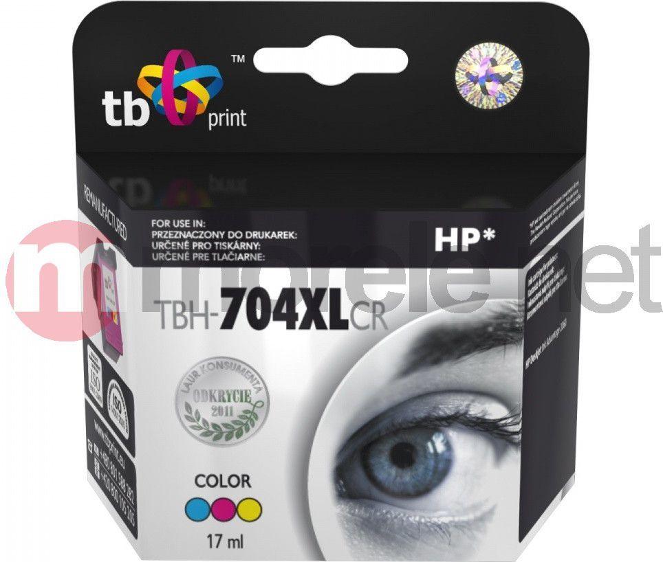 TB Tusz TBH-704XLCR (HP CN693AE) 1
