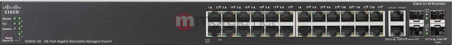 Switch Cisco SG500-28-K9-G5 1