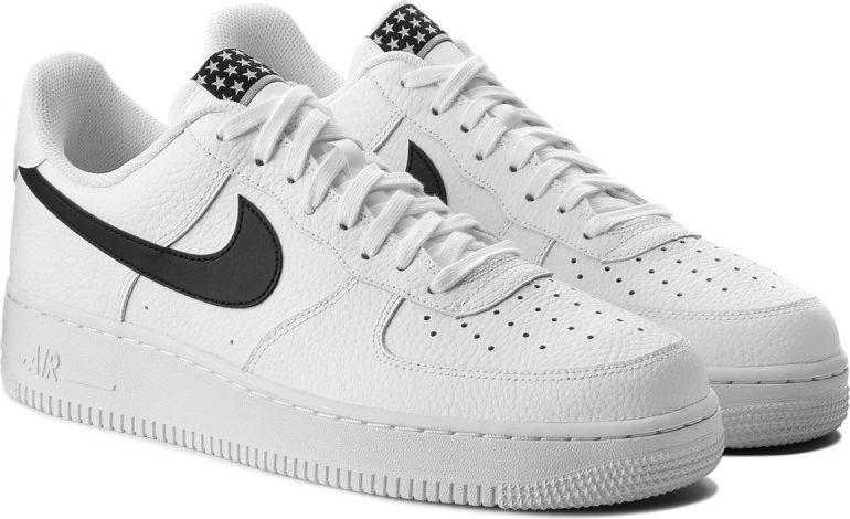 buty nike air force czarne meskie dlugie 43