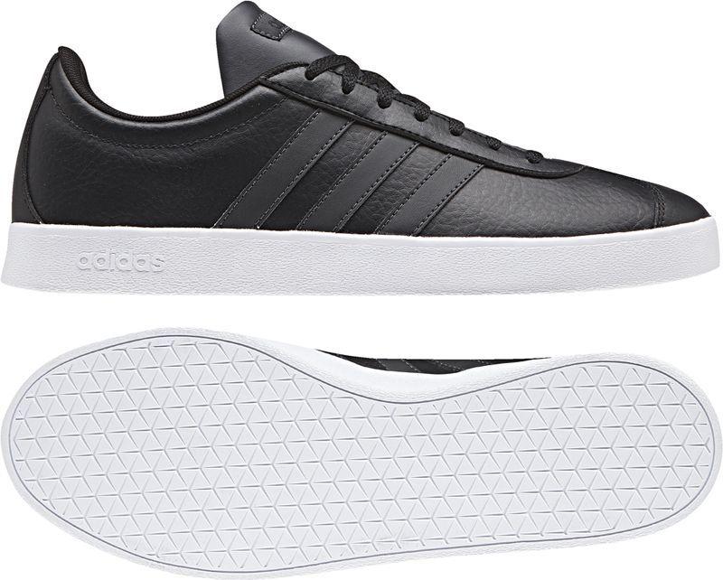 Adidas Buty męskie VL Court 2.0 czarne r. 42 (B43816) ID produktu: 4762655