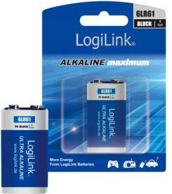 LogiLink Bateria Ultra Power 9V Block 1szt. 1