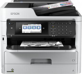 Urządzenie wielofunkcyjne Epson WF-M5799DWF mono A4/fax/WLAN/34ppm/PCL6+PS3 (C11CG04401) 1