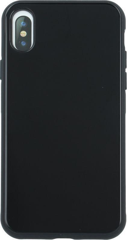 Devia Nakładka Glass iPhone X czarna 1