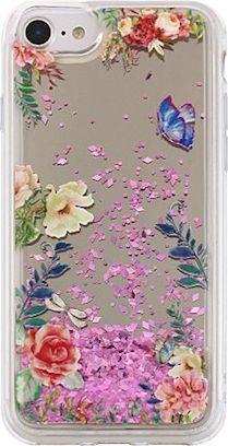 TelForceOne Nakładka Liquid Mirror TPU Flower1 do iPhone X 1