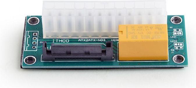 Kontroler Gembird Adapter ze złączem SATA do podczenia dodatkowego zasilania (ADD2PSU) 1
