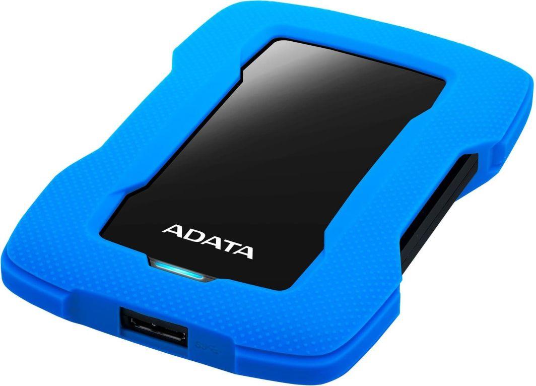 Dysk zewnętrzny ADATA HDD HD330 1 TB Niebieski (AHD330-1TU31-CBL) 1