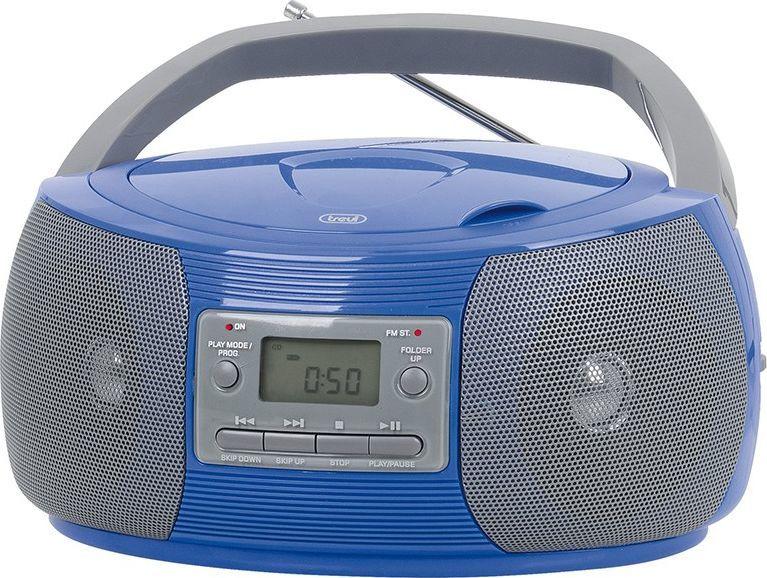 Radioodtwarzacz Trevi Boombox Trevi CMP524 CD Radio MP3 blue 1