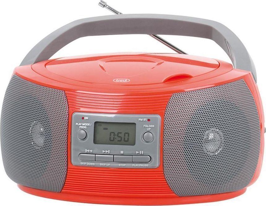 Radioodtwarzacz Trevi Boombox Trevi CMP524 CD Radio MP3 red 1
