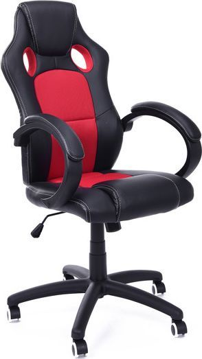 Imaggio Fotel biurowy RACER XS czarno - czerwony + gratis ! 1