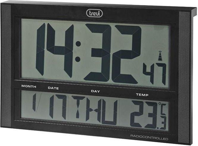 Trevi Zegar Ścienny OM 3340 Duży wyświetlacz 42x27 1