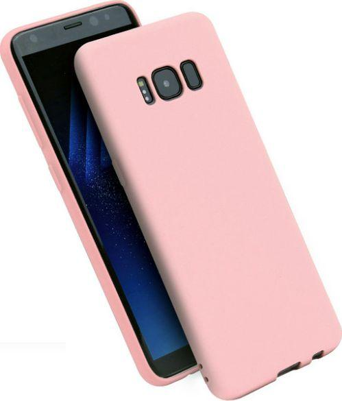 Etui Candy Samsung A6 Plus 2018 jasno różowy/light pink 1