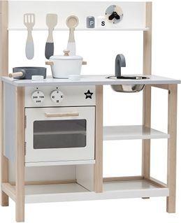 Kids Concept Kuchnia Drewniana Biala 1000161 Id Produktu 4778766