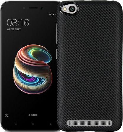 Etui Carbon Fiber Xiaomi Redmi 5A czarny /black 1