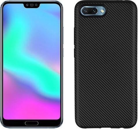 Etui Carbon Fiber Huawei Honor 10 czarny /black 1