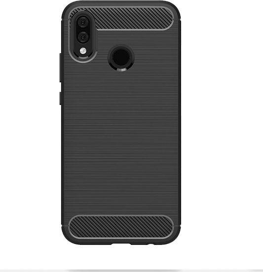 Etui Carbon Huawei P20 Lite czarny black 1