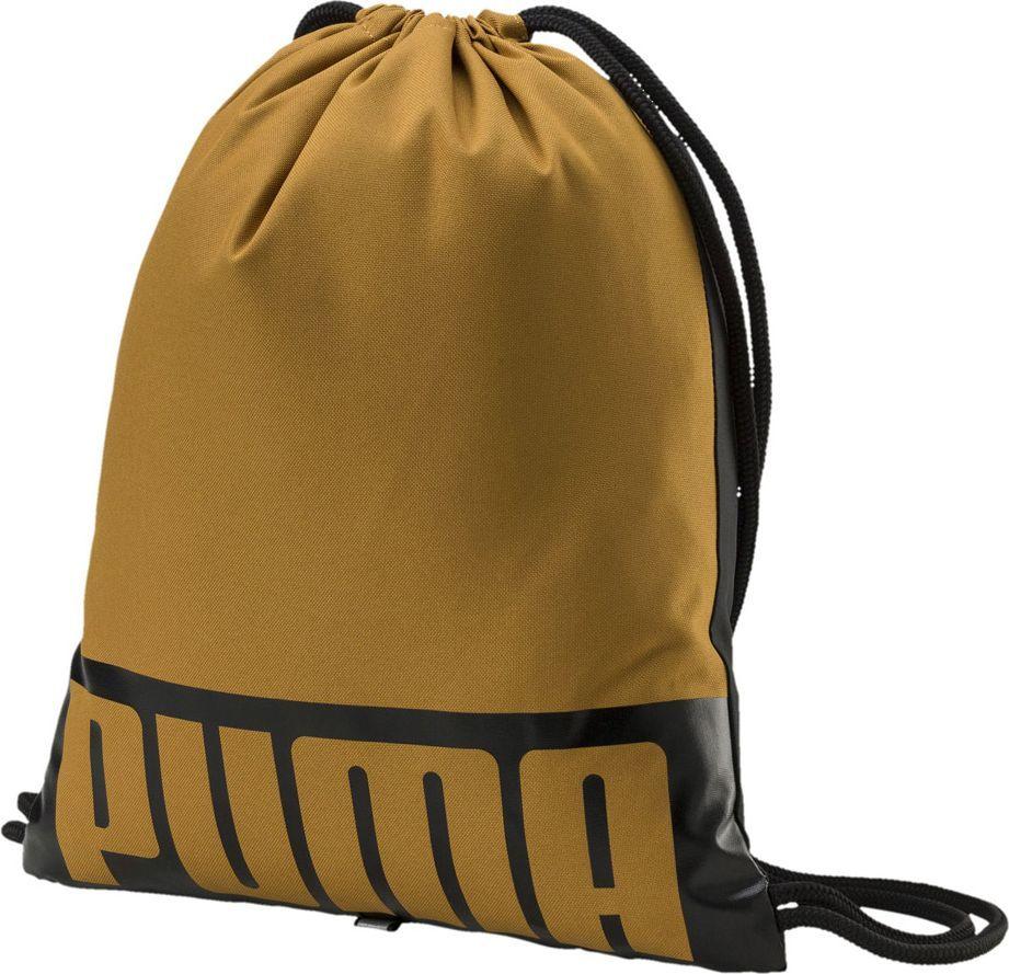 Puma Worek na buty Puma Deck Gym Sack brązowy 074961 12 1