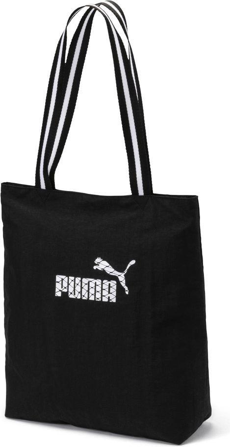najlepsze oferty na popularne sklepy najnowsza kolekcja Puma Torba sportowa damska Wmn Core Shopper 14.6L czarna (075398 02) ID  produktu: 4780520