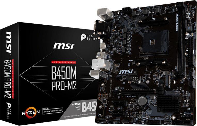 Płyta główna MSI B450M PRO-M2 1