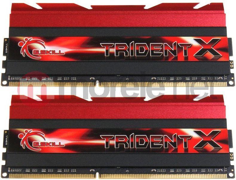 Pamięć G.Skill TridentX, DDR3, 8 GB, 2400MHz, CL10 (F3-2400C10D-8GTX) 1