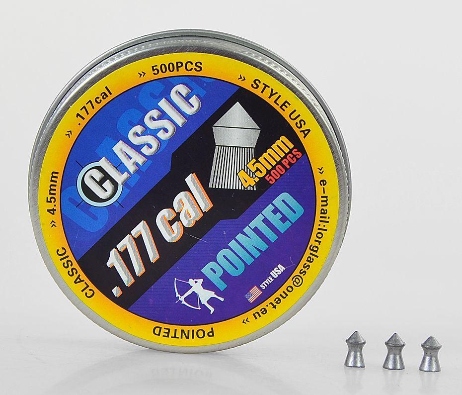 ŚRUT CLASSIC SZPIC 500szt 4,5mm T01 1