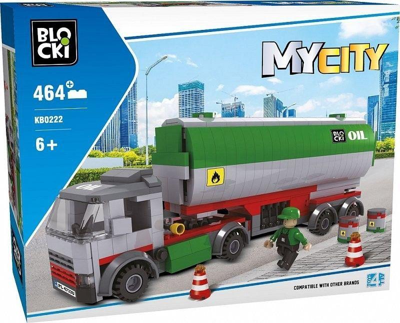 Blocki Klocki MyCity 464 Elementów Cysterna 1