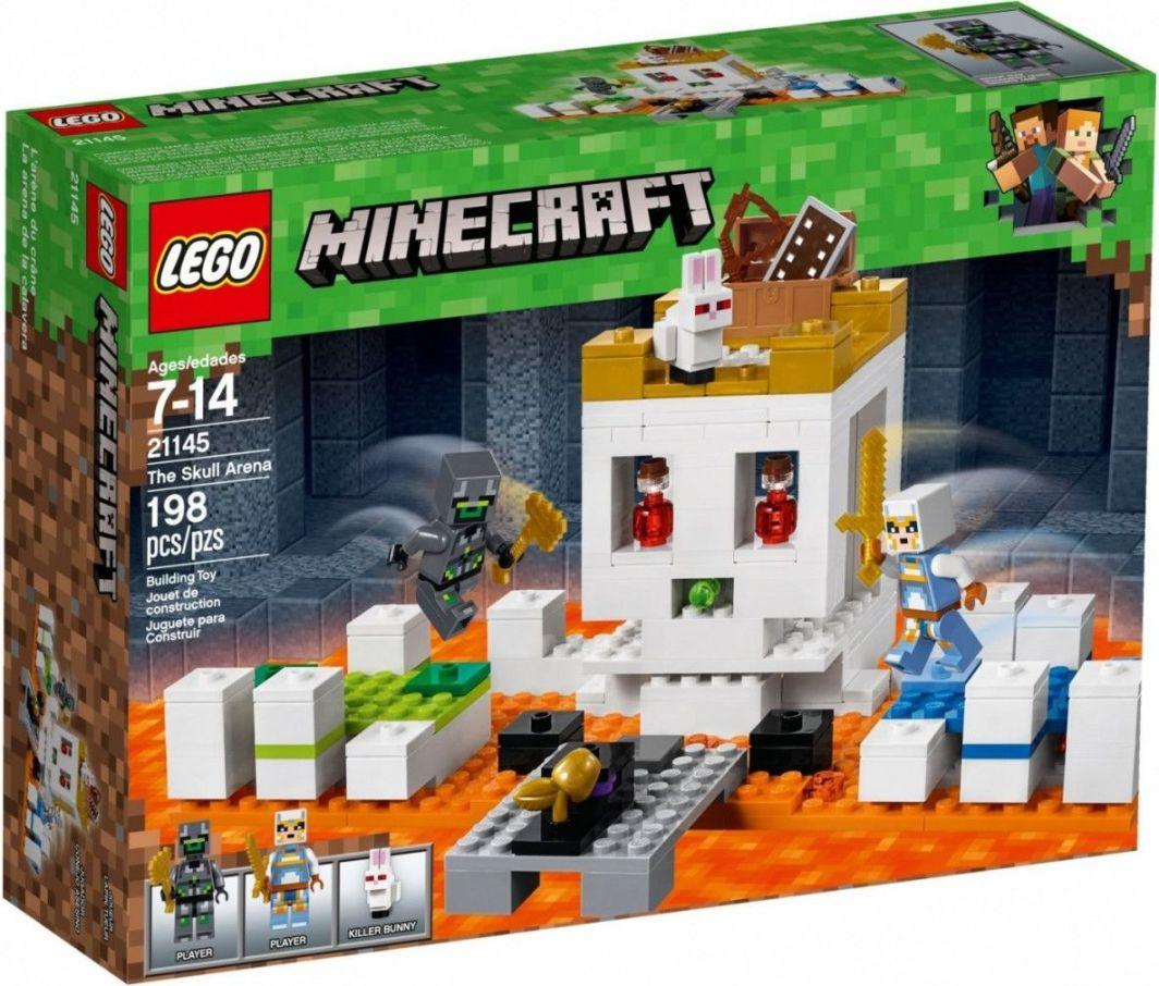 dbbba4492 LEGO MINECRAFT Czaszkowa Arena (21145) w Hulahop.pl