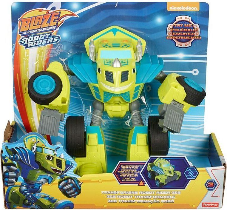 Fisher Price Blaze. Pojazdy - Roboty - Zeg (FTB93/FTB94) 1
