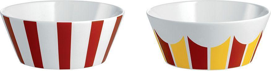 Alessi Zestaw dwóch miseczek z porcelany średnica: 11cm (8003299405015) 1