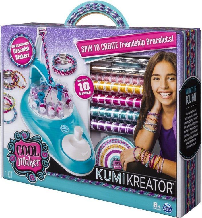 Spin Master Kumi Kreator Tworzenie bransoletek (6038301) 1