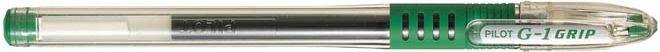 Pilot Długopis żelowy G1 GRIP zielony (750007a) 1