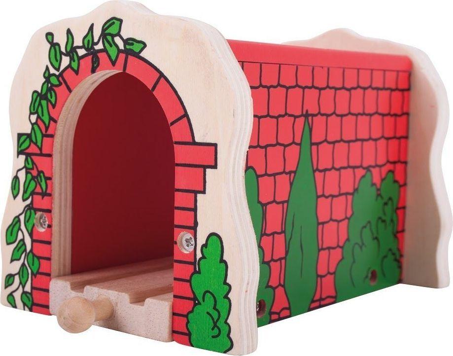 BigJigs Tunel kolejowy z czerwonych cegieł 1