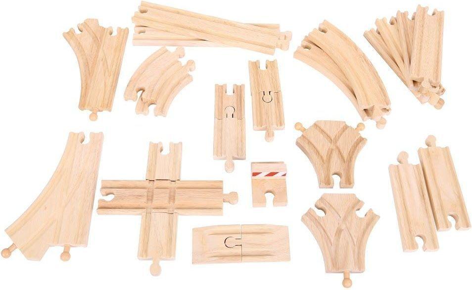 BigJigs Zestaw drewnianych torów - 25 szt. 1