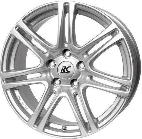 RC-Design RC28 Silver 6.5x15 5x100 ET38 1