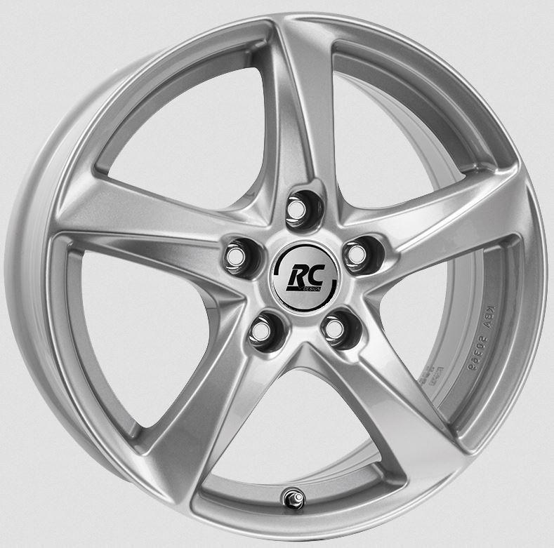 RC-Design RC30T Silver 7.5x18 5x114.3 ET50.5 1