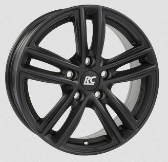 RC-Design RC27 Matt Black 8x18 5x110 ET33 1