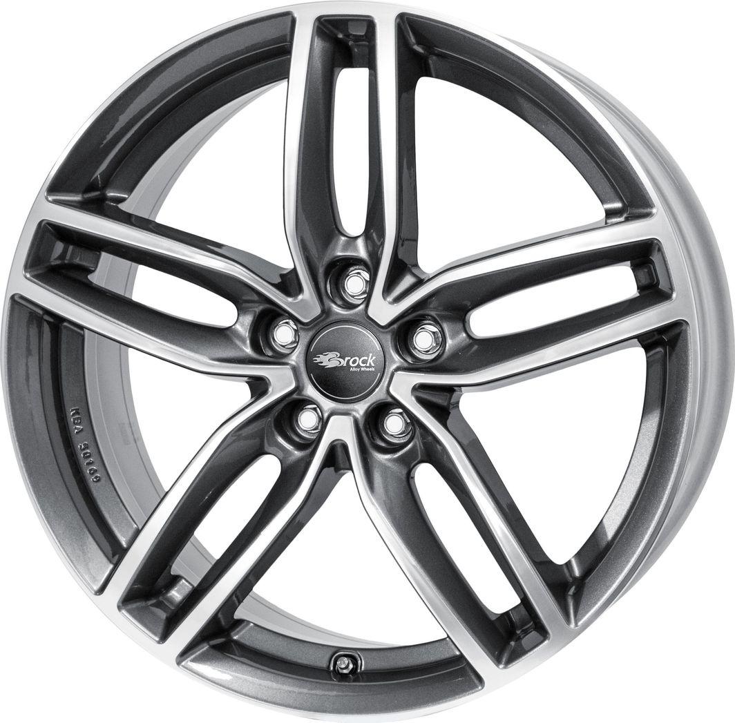 RC-Design RC29 Himalaya Grey Polished 8.5x20 5x112 ET33 1