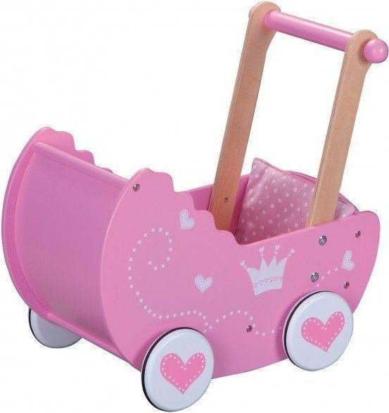 Lelin Drewniany wózek dla lalek (L30017) 1