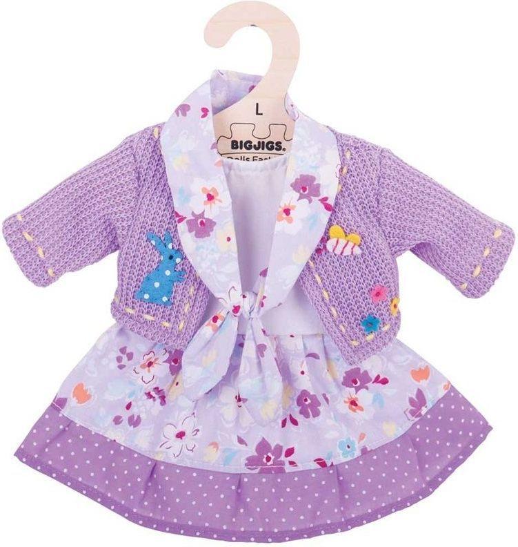 BigJigs Ubranko dla lalki fioletowe (BJD519) 1
