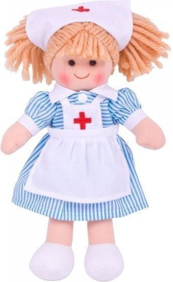 BigJigs Lalka szmaciana - pielęgniarka (BJD011) 1