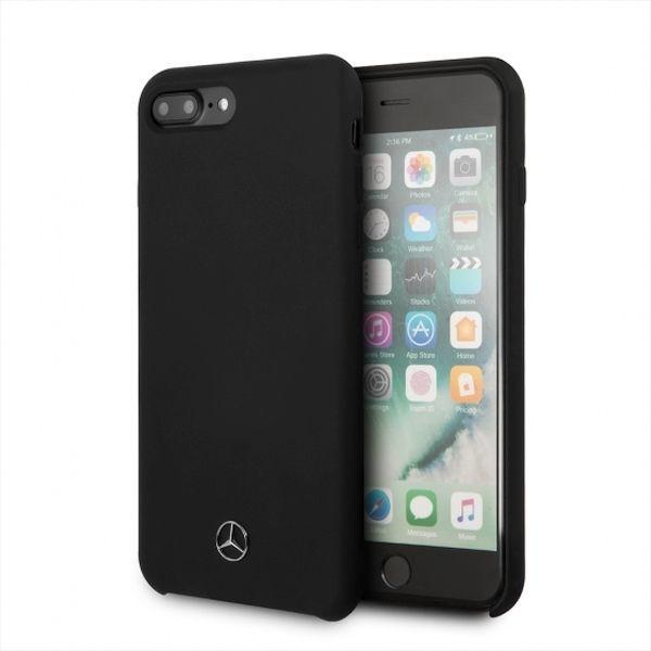 Mercedes iPhone 7/8 Plus hard case czarny (MEHCI8LSILBK) 1