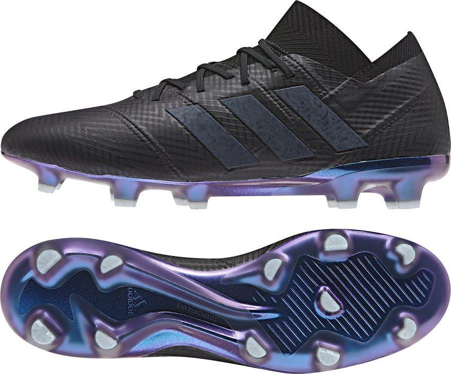 cf0a7d1f7 Adidas Buty piłkarskie Nemeziz 18.1 FG czarne r. 45 1/3 (DB2078) w  Sklep-presto.pl