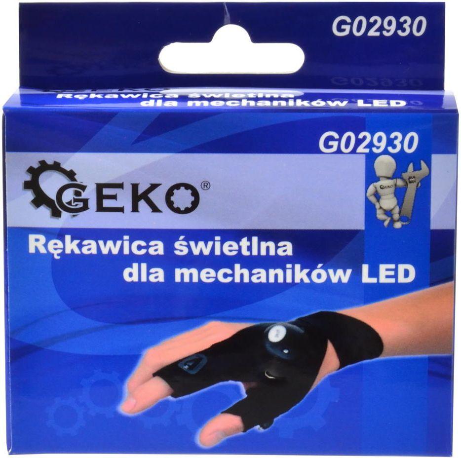 Geko rękawica świetlna dla mechaników LED (G02930) 1