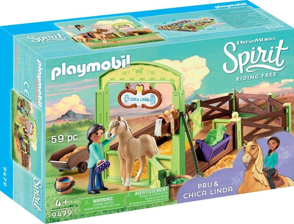 Playmobil Boks stajenny Pru i Chica Linda (9479) 1