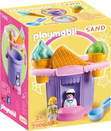 Playmobil Wiaderko do piasku Lodziarnia (9406) 1