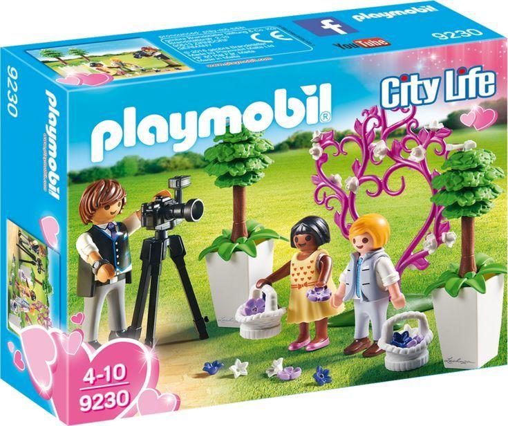 Playmobil Fotograf i dzieci z kwiatkami (9230) 1