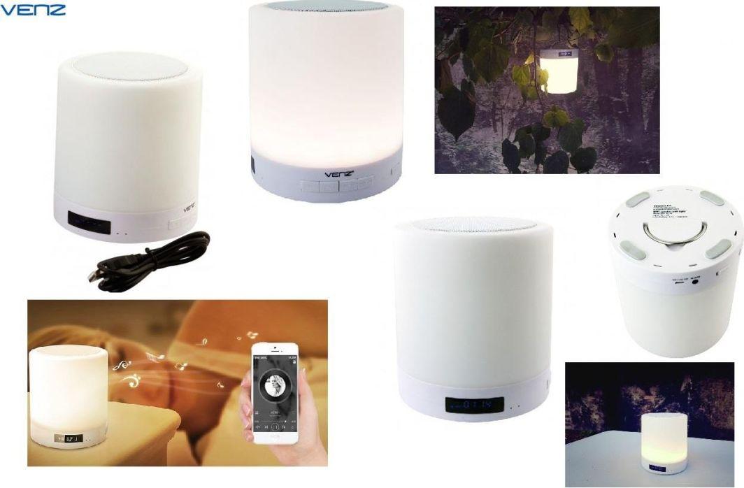 Głośnik Venz Głośnik bezprzewodowy Venz sieciowy Wi-Fi Multiroom z lampką LED 1