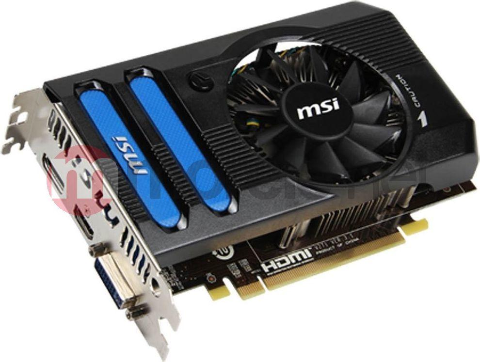 Karta graficzna MSI Radeon HD7770 1GB DDR5 (R7770-PMD1GD5) 1