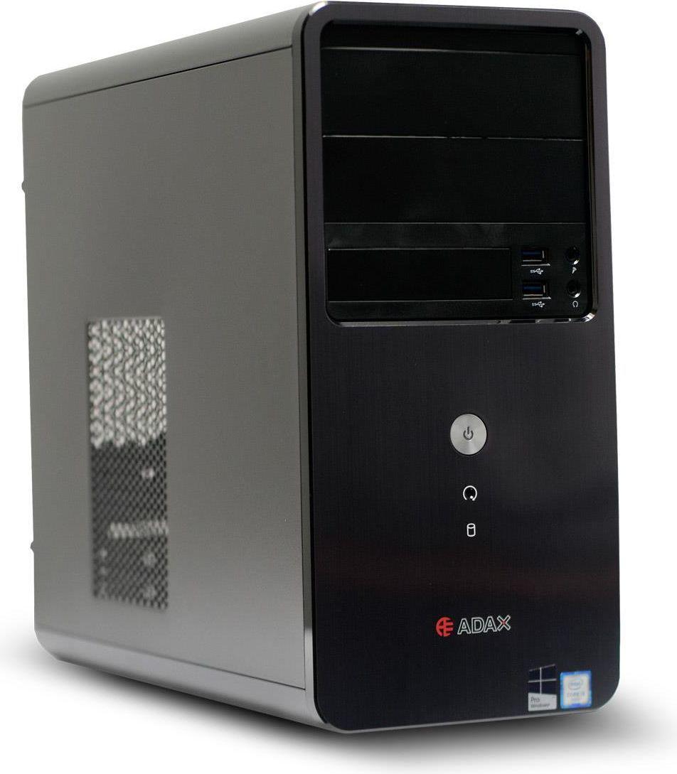 Komputer Adax Delta Core i3-8100, 4 GB, Intel HD Graphics 630, 1 TB HDD Windows 10 Pro 1
